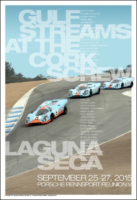 Gulfstreams At The Corkscrew – 50 Drivers In Attendance At Rennsport V