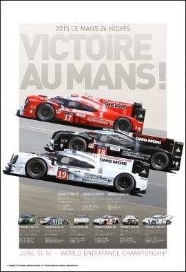 Victoire Au Mans 2016