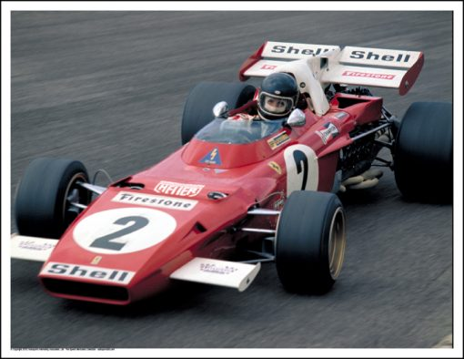 FERRARI 312B2 – JACKY ICKX – ZANDVOORT 1971