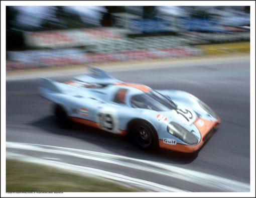PORSCHE 917K – RICHARD ATTWOOD/HERBERT MULLER – LE MANS 1971