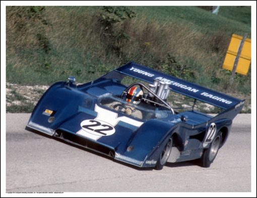 MCLAREN M8F – FRANCOIS CEVERT – ROAD AMERICA 1972