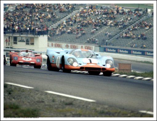 PORSCHE 917K – BRIAN REDMAN/JO SIFFERT – WATKINS GLEN 1970