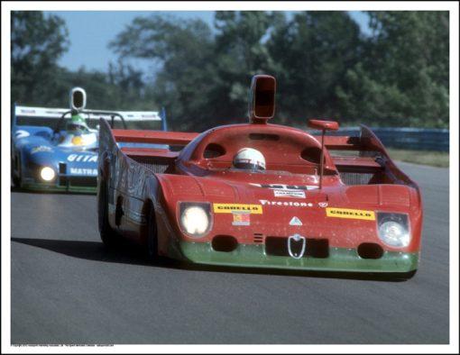 ALFA ROMEO T33/TT/12 – MARIO ANDRETTI/ARTURO MERZARIO – WATKINS GLEN 1975