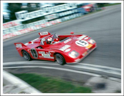 ALFA ROMEO 33TT3 – NANNI GALLI/ROLF STOMMELEN – LE MANS 1972
