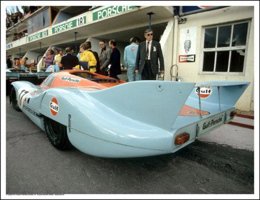 PORSCHE 917LH – DEREK BELL/JO SIFFERT – LE MANS 1971