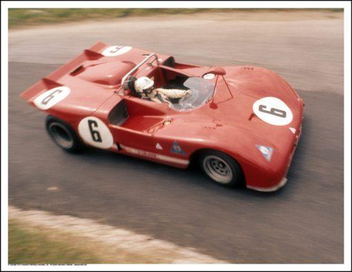 ALFA ROMEO T33/3 – LEO KINNUNEN/ROLF STOMMELEN – TARGA FLORIO 1971