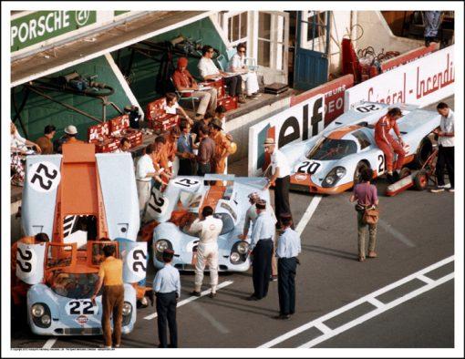 PORSCHE 917s – LE MANS 1970
