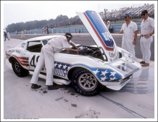 CHEVROLET CORVETTE – JOHN GREENWOOD/DICK SMOTHERS – WATKINS GLEN 1972