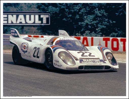 PORSCHE 917K – HELMUT MARKO/GIJS VAN LENNEP – LE MANS 1971