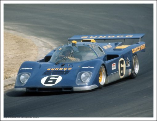 FERRARI 512M – MARK DONOHUE/DAVID HOBBS – WATKINS GLEN 1971