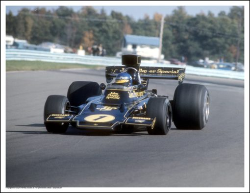 LOTUS 72 – RONNIE PETERSON – WATKINS GLEN 1974