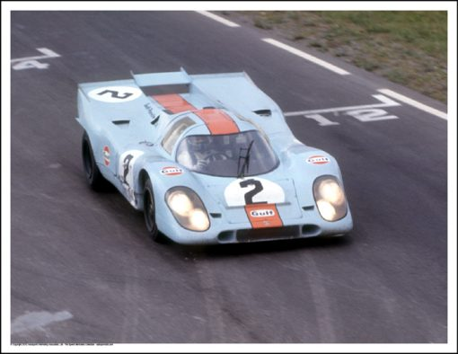PORSCHE 917K – LEO KINNUNEN/PEDRO RODRIGUEZ – WATKINS GLEN 1970