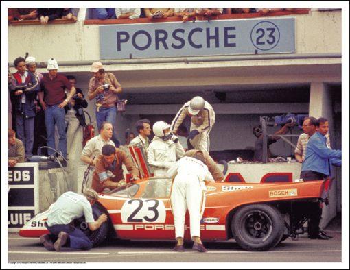 PORSCHE 917K – RICHARD ATTWOOD/HANS HERRMANN – LE MANS 1970
