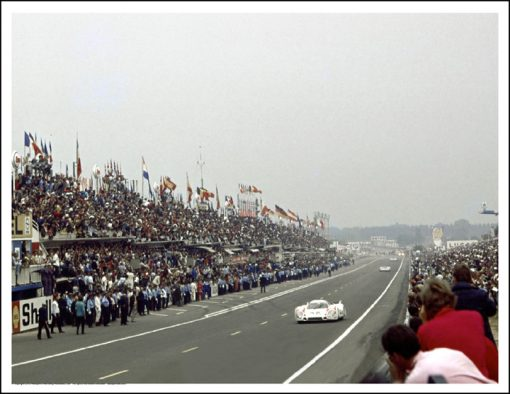 PORSCHE 917LH – KURT AHRENS/VIC ELFORD – LE MANS 1970 IST LAP