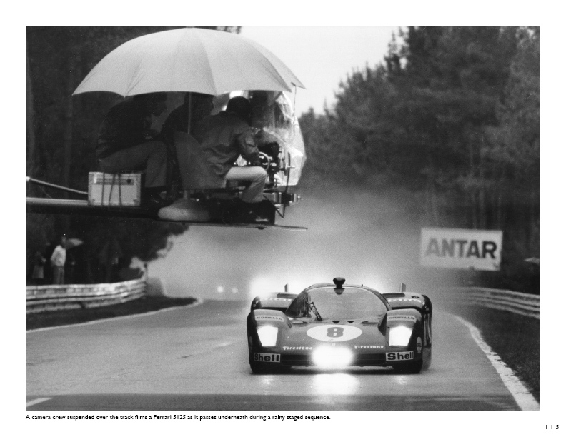 behind le mans the film in photographs autosports marketing associates ltd. Black Bedroom Furniture Sets. Home Design Ideas